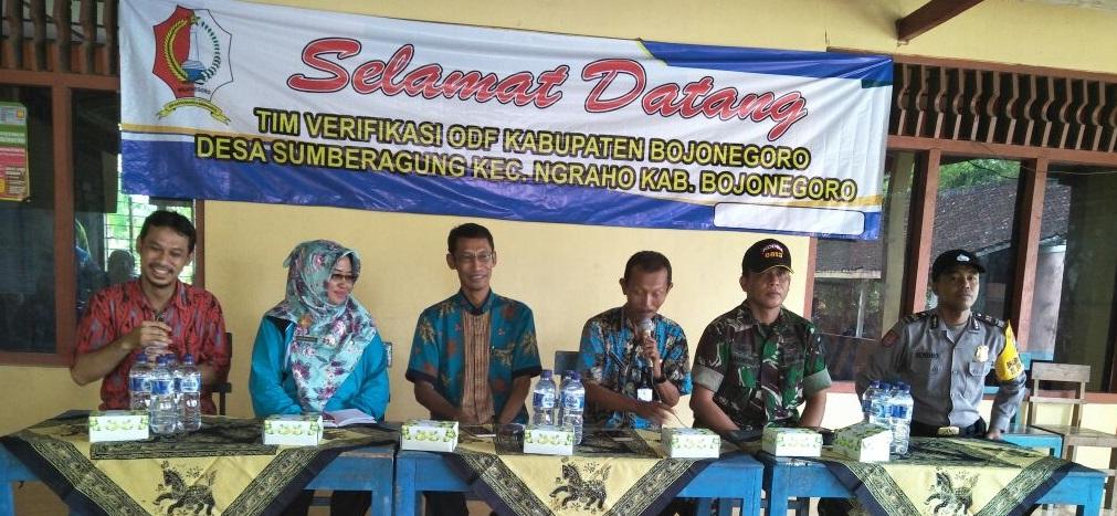 Verifikasi ODF di Kecamatan Ngraho<BR>oleh Tim Kabupaten