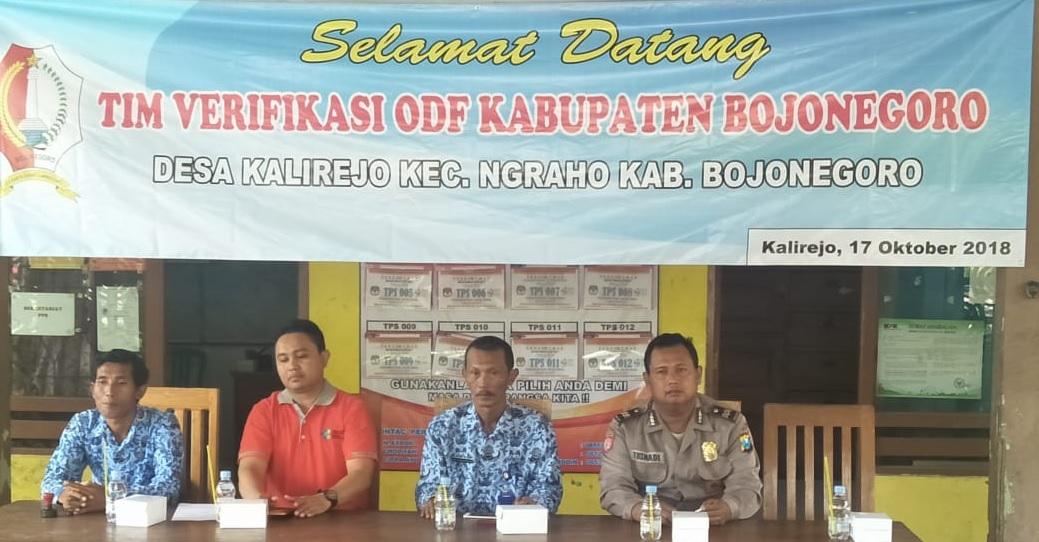 Verifikasi ODF di Desa Kalirejo<BR>Kecamatan Ngraho Kabupaten Bojonegoro